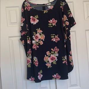 Floral dressing shirt